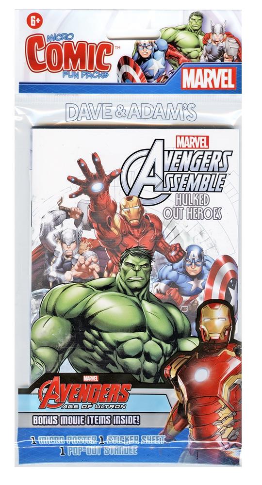 Avengers Micro Comic Fun Pack imagine