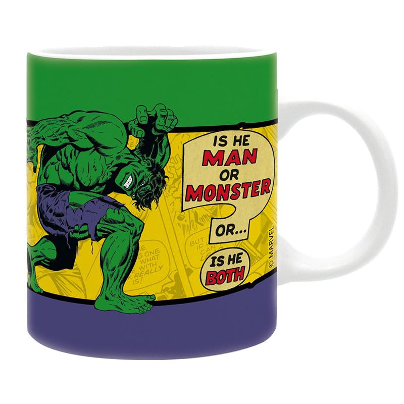 Cană Marvel: Vintage Incredible Hulk