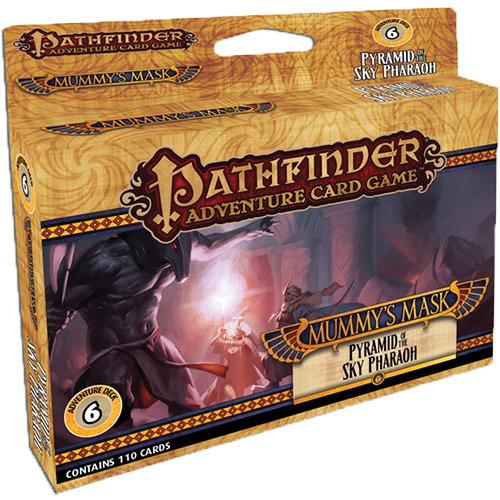 Pathfinder Adventure Card Game: Mummy's Mask – Pyramid of the Sky Pharaoh imagine