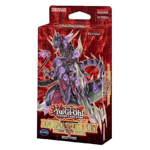 Yu-Gi-Oh!: Structure Deck Dinosmasher's Fury imagine