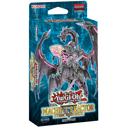 Yu-Gi-Oh!: Structure Deck Machine Reactor imagine