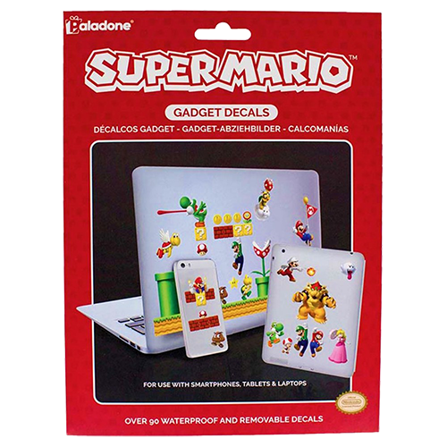 Super Mario - Gadget Decals