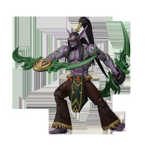 Blizzard's Heroes of The Storm Series - Illidan Stormrage imagine
