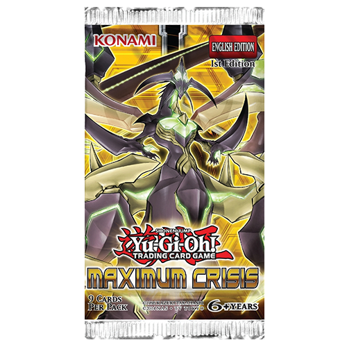 Yu-Gi-Oh!: Maximum Crisis - Booster Pack imagine