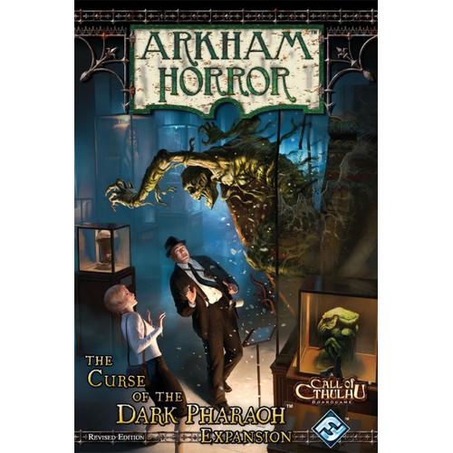 Arkham Horror: Curse of the Dark Pharaoh Expansion (ediţia revizuită)