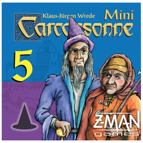 Carcassonne Mini 5: Mage & Witch