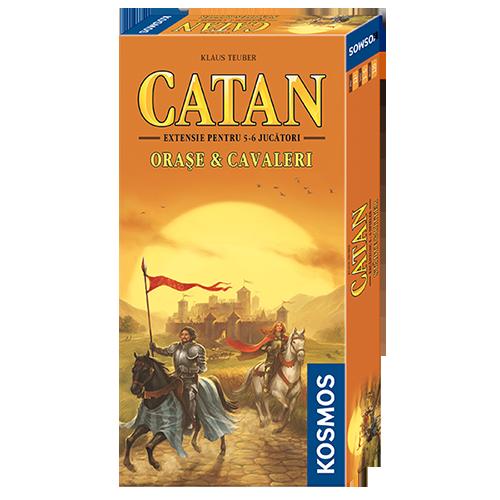 Catan: Oraşe & cavaleri – Extensia pentru 5-6 jucători