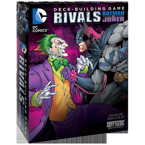 DC Comics Deck-Building Game: Rivals – Batman vs. The Joker
