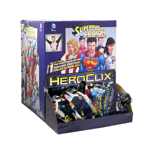 DC HeroClix: Superman and the Legion of Super-heroes Fast Forces