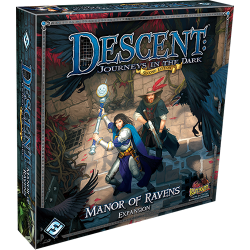 Descent: Journeys in the Dark (ediţia a doua) – Manor of Ravens