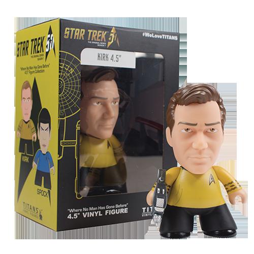 Figurina: Star Trek TOS Titans Kirk (NYCC 2016)