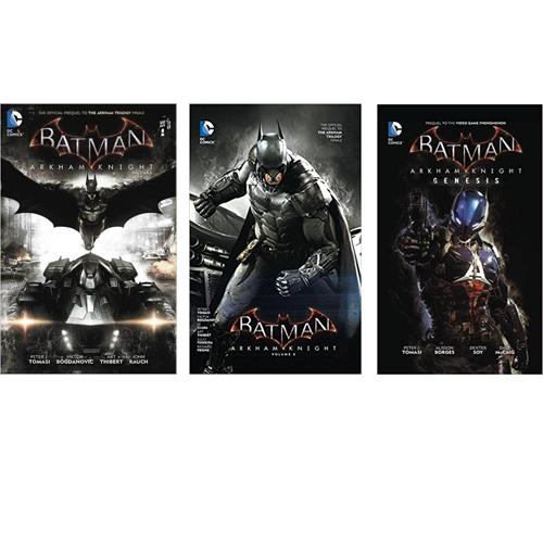 Set Batman: Arkham Knight HC Vol 01-03