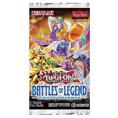 Yu-Gi-Oh!: Battles of Legend - Light's Revenge Booster Pack imagine