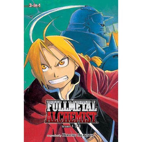 Fullmetal Alchemist 3in1 TP Vol 01