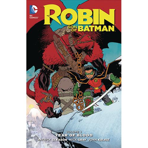 Robin Son of Batman HC Vol 01 Year of Blood