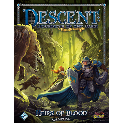Descent: Journeys in the Dark (ediţia a doua) – Heirs of Blood Campaign