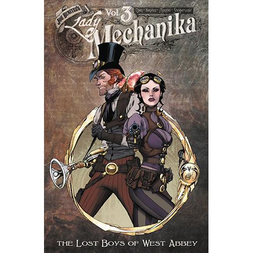 Lady Mechanika TP Vol 03 Lostboys of West Abbey imagine
