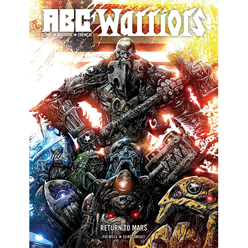 ABC Warriors Return To Mars HC
