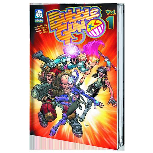 Bubblegun TP Vol 01 Heist Jinks