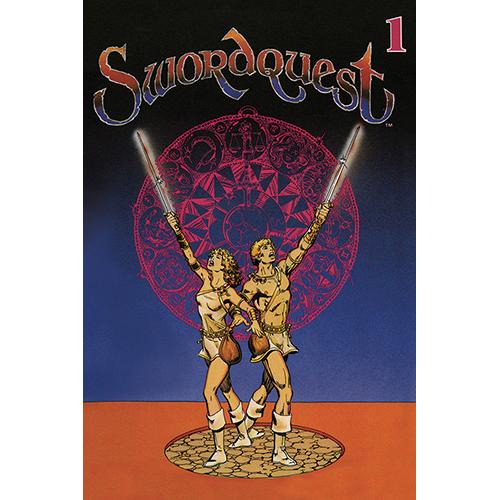 Swordquest Earthworld Classic Atari Mini-Comic