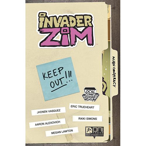 LCSD 2016 Invader Zim no. 0