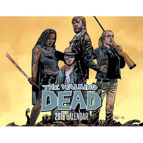 Calendar: SDCC 2017 Walking Dead 2018 imagine