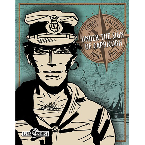 Corto Maltese Graphic Novel Under The Sign of Capricorn imagine