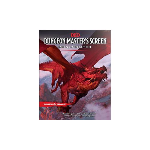 Dungeons & Dragons Dungeon Master's Screen Reincarnated