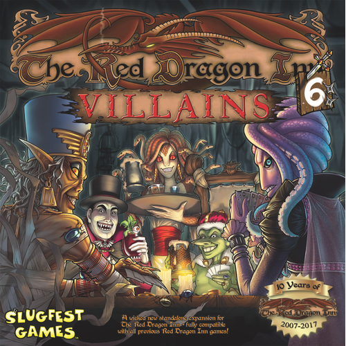 The Red Dragon Inn 6: Villains