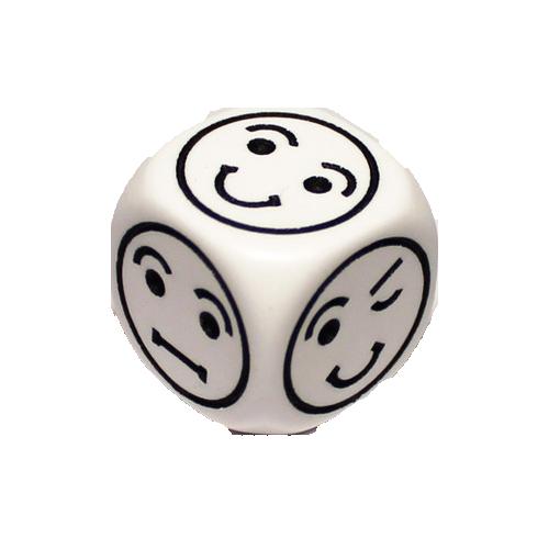 Zar d6 Smiley Face