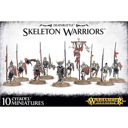 Warhammer: Deathtattle - Skeleton Warriors