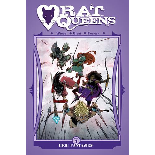 Rat Queens TP - Vol 04: High Fantasies