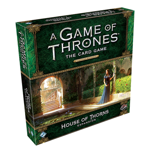 A Game of Thrones: The Card Game (editia a doua) - House of Thorns Deluxe Expansion imagine