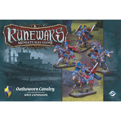 Runewars Miniatures Game - Oathsworn Cavalry
