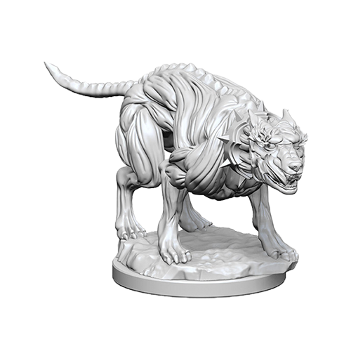 Pathfinder Unpainted Miniatures: Hell Hounds imagine