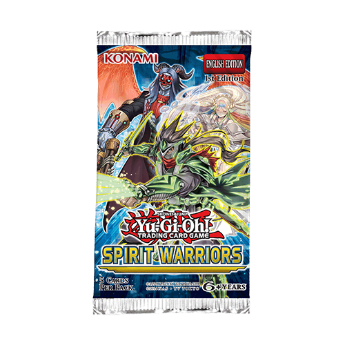 Yu-Gi-Oh!: Spirit Warriors - Booster Pack imagine