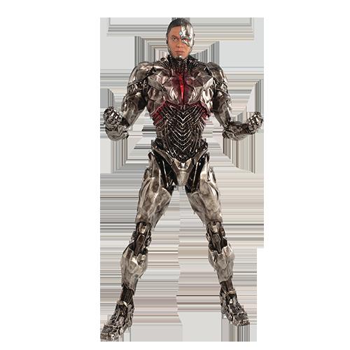 Figurina: Justice League Movie Cyborg Artfx+