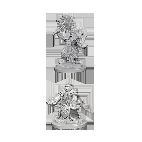 D&D Nolzur's Marvelous Unpainted Miniatures: Dwarf Female Cleric - 1
