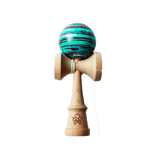 Kendama Sweets Prime Customs V8 Chaz Edwards Throwback imagine