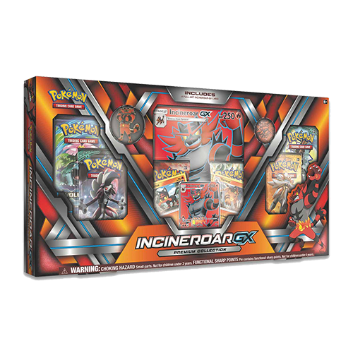Pokemon Trading Card Game: Incineroar-GX Premium Collection Box