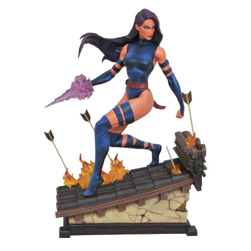 Figurina: Marvel Premier Collection Psylocke