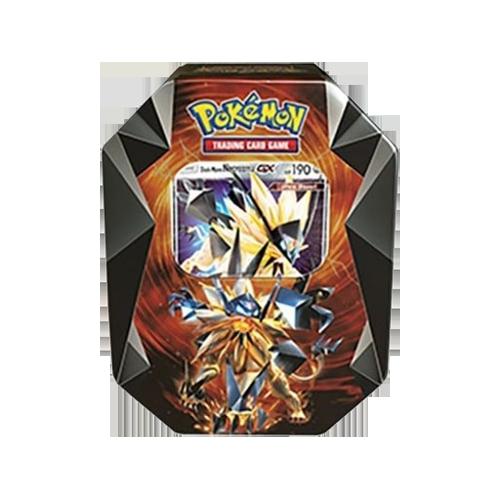 Pokemon Trading Card Game: Necrozma Prism Tin - Dusk Mane Necrozma-GX