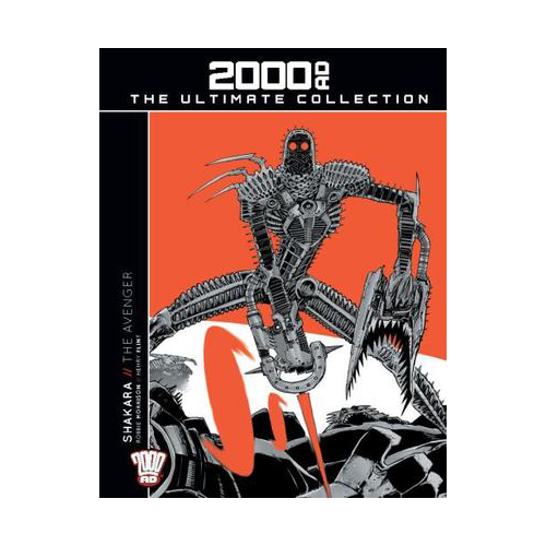 2000 AD Graphic Novel Collection Vol 03 HC Shakara The Avenger