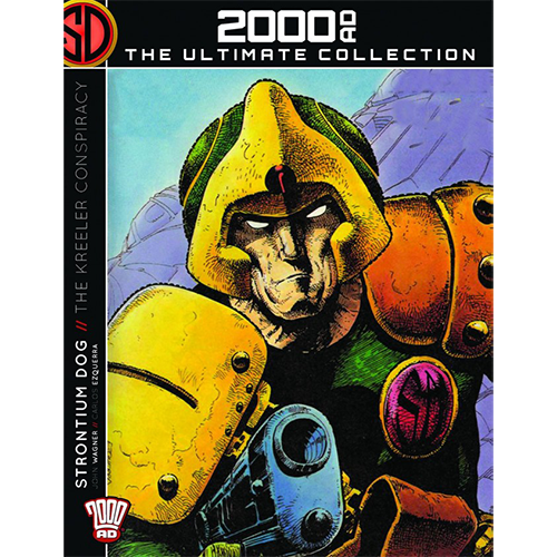 2000 AD Graphic Novel Collection Vol 04 HC Strontium Dog Kreeler Conspiracy imagine