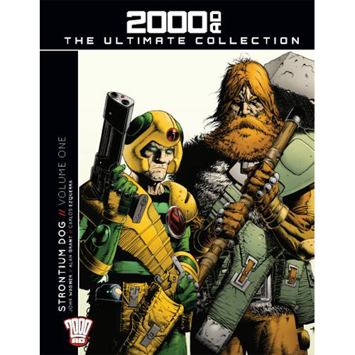 2000 AD Graphic Novel Collection Vol 07 HC Strontium Dog imagine