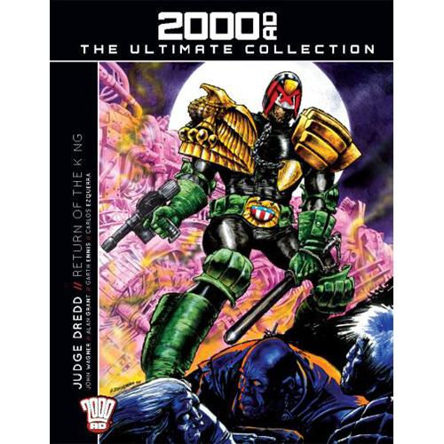 2000 AD Graphic Novel Collection Vol 10 HC Judge Dredd Return of The King imagine
