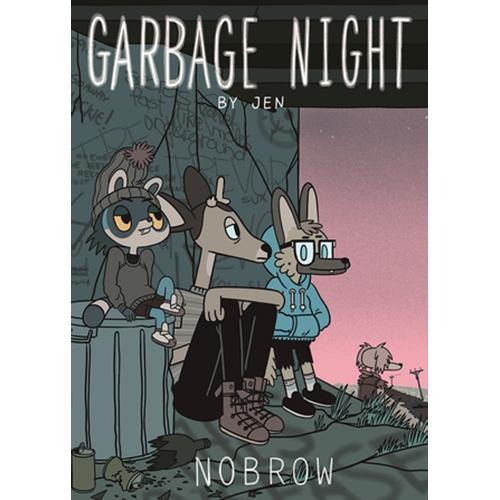 Garbage Night Graphic Novel imagine
