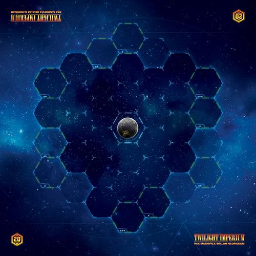 Twilight Imperium (Fourth Edition): Galactic Gamemat