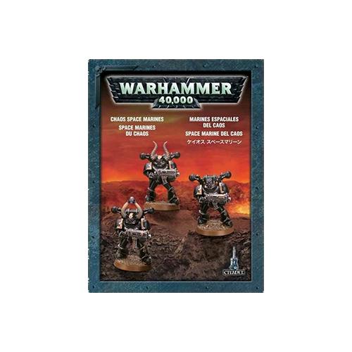 Warhammer: Chaos Space Marines (3 models)