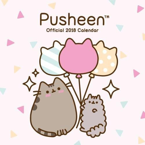 Calendar Pusheen 2018 imagine